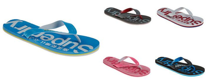 Sommer Flip Flops Superdry Sale bei Outlet46   z.B. Flip Flops für 7,46€ (statt 20€)