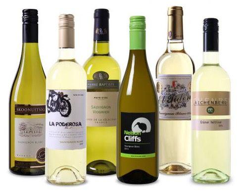 Spargel Wein Probierpaket mit 6 Flaschen für 37,95€   teilweise prämiert!