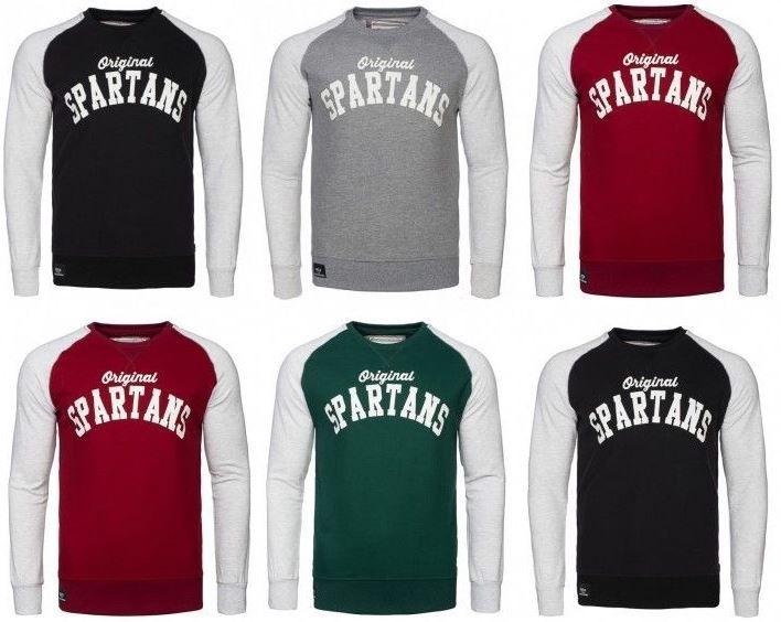 Spartan Raglan Spartans History Raglan   Herren College Sweater div. Farben für je 15,99€