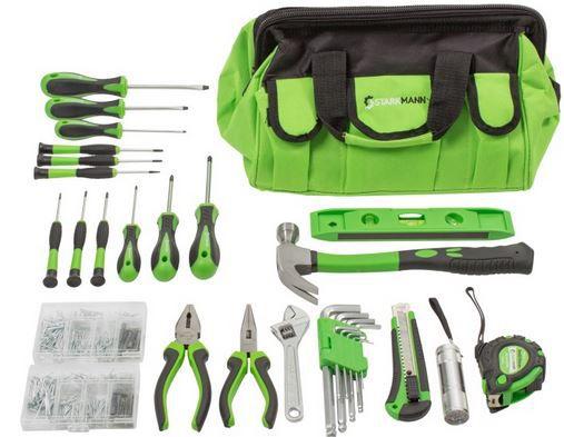 STARKMANN Greenline 756tlg. Werkzeugtasche für 19,99€ (statt 31€)