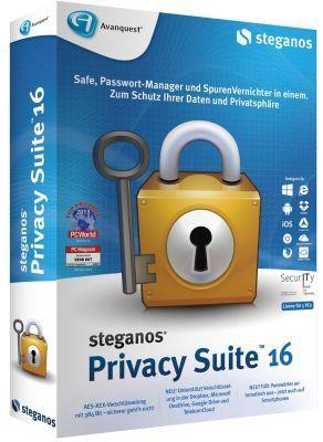 Steganos Privacy Suite 16 Steganos Privacy Suite 16 kostenlos
