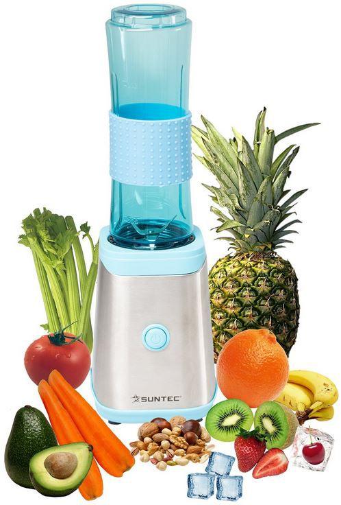 Suntec Wellness SMO 9936 Smoothie Maker + 2 Sportflaschen für 30,99€