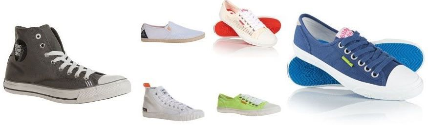 Superdry Sneaker Angebot Wow Superdry High & Low Sneakers für Damen und Herren je 13,95€