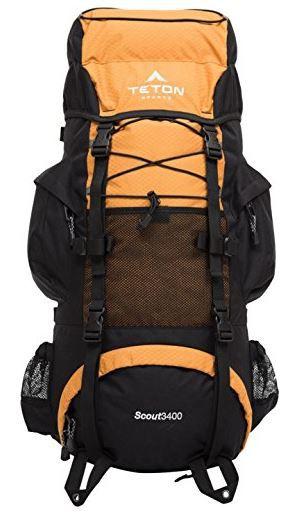 Teton Scout 3400 Sports Rucksack, mit Innentasche