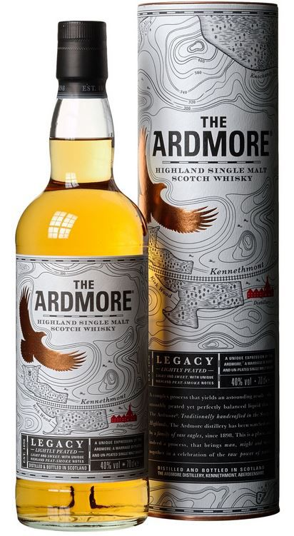 Ardmore Legacy Highland Single Malt Scotch Whisky ab 19,99€ (statt 25€)