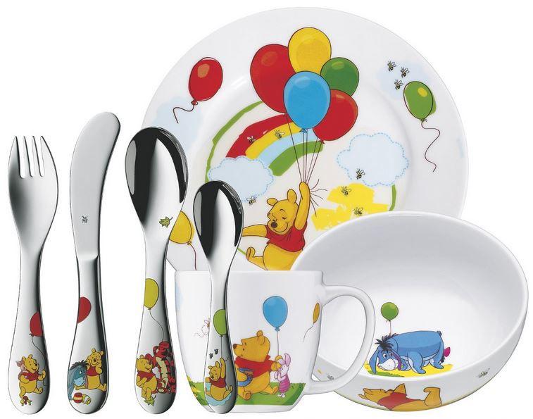 WMF Kindergeschirr Set: Winnie the Pooh   7 teilig statt 45€ für nur 32,95€