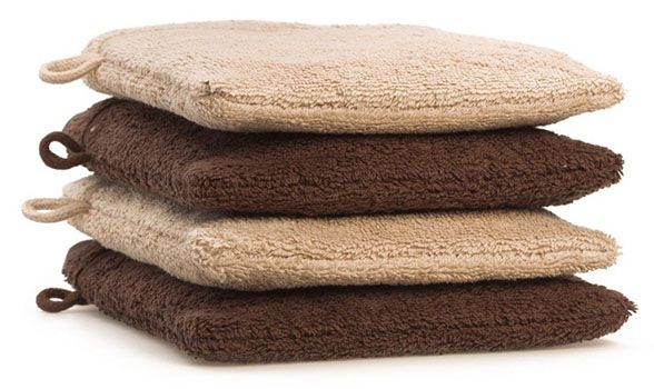 4er Pack Waschhandschuhe für 3,21€   Plus Produkt