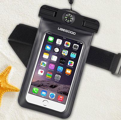 Wasserdichte Smartphone Hülle mit Kompass ab 4€ (statt 10€)