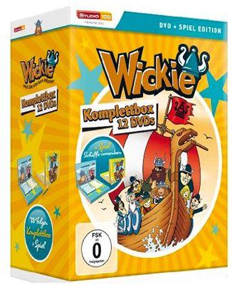 Wickie und die starken Männer DVD Komplettbox für 34,97€ (statt 42€)