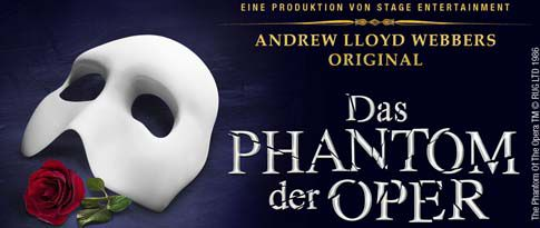 Wide PHANTOM DER OPER  Div. Musicals: Rocky, Starlite, hinterm Horizont, .... inkl. 4* Hotelaufenthalt ab 99€ pro Person