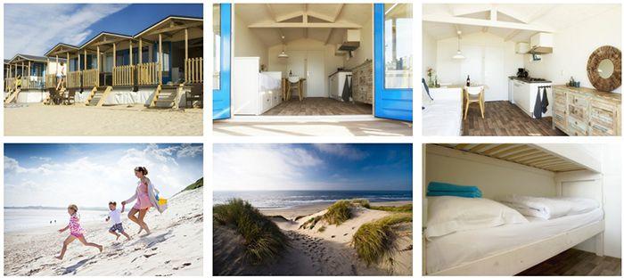 Wijk aan Zee 4 Tage im Strandhäuschen in Holland für bis zu 6 Personen ab 399€