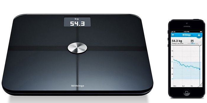 Withings WS 50 Withings WS 50 Smart Body Analyzer für 101,87€ (statt 129€)