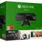 Xbox One 1TB + Rainbow Six Siege + Rainbow Six Vegas 1 u. 2 + Doom statt 407€ für 320,99€