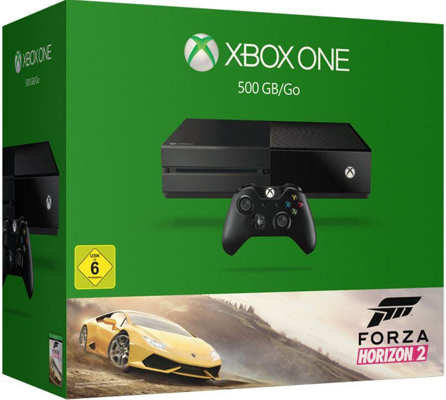 Xbox One 500GB Konsole + 2ter Controller + Forza Horizon 2 + Halo 5 + Forza 6 für 279€
