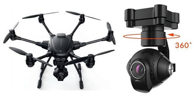 YUNEEC Typhoon H Advance Hexakopter für 1.112,80€ (statt 1.399€)