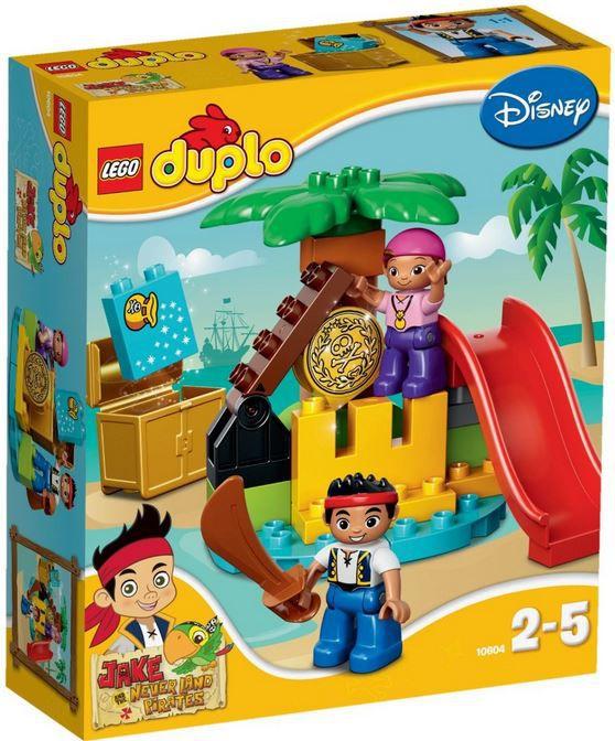 duplo günstig  LEGO   Duplo: Jake und die Nimmerland Piraten   Schatzinsel ab 11,07€