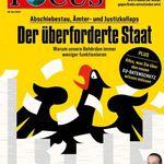 Knaller! 13 Ausgaben Focus für 54,60€ + 54,60€ Verrechnungsscheck