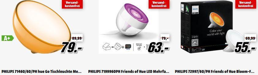 friend of Hue Philips HUE Lichtsysteme   Starter Sets und Zubehör günstig in der MediaMarkt Aktion