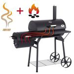 Ultranatura Smoker Grill Denver mit 2 Brennkammern für 119€