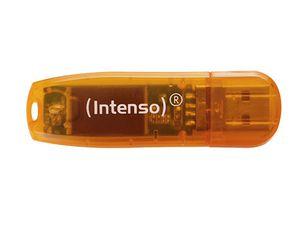 Intenso Rainbow Line 64 GB USB Stick USB 2.0 orange für 5€ (statt 6€)