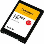Intenso SSD SATA III – 256GB 2,5″ Top High-Speed MLC für 26,91€ (statt 33€)
