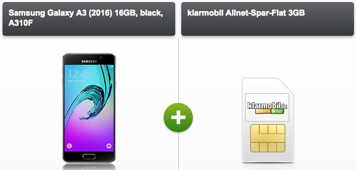 Vodafone Allnet Flat 3GB + Smartphone ab 20,72€ mtl. + ggf. gratis Zubehör Paket