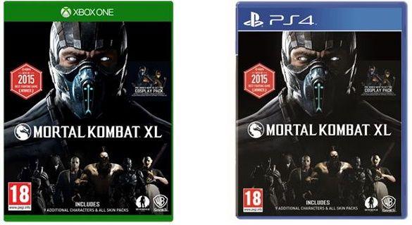 mxl1 Mortal Kombat XL (PS4, Xbox One) ab 18€ (statt 21€)
