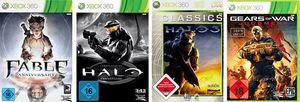 Saturn: Diverse Xbox 360 Spiele für 5€