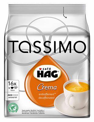 5er Pack Tassimo HAG (5 x 16 Portionen) ab 12,42€ (statt 20€)