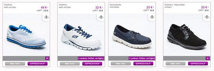 vente sketch Skechers Sale bis  70% – Schuhe ab 22€ für Herren, Damen & Kinder