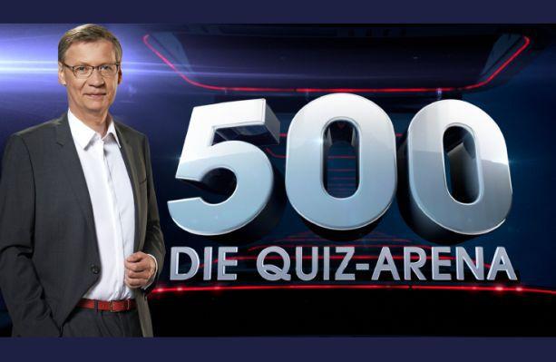 Freikarten für die Quizshow 500   Die Quiz Arena mit Günther Jauch