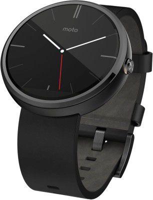 Motorola Moto 360 Smartwatch mit Lederarmband refurb. für 99,90€