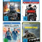 Action Filme zum Knallerpreis – z.B. Fury – Herz aus Stahl ab 4,97€