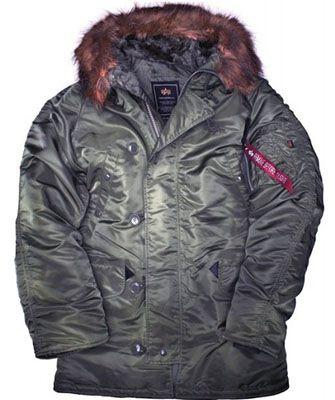 Alpha Industries N3B Winterjacke ab 106€ (statt 195€)