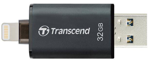 Transcend JetDrive Go 300   32GB Lightning Stick für iPhone und Pads nur 47€
