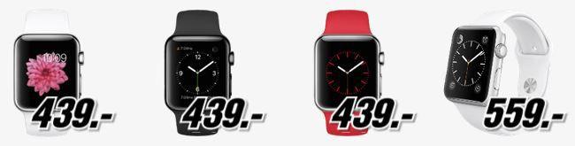 Apple Watch Angebot Pfingstkracher bei Media Markt mit günstigen Smartphones und Wearables