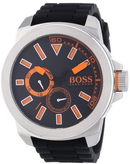 BOSS Orange New York Multieye   XL Herren Armbanduhr statt 140€ für 114,49€