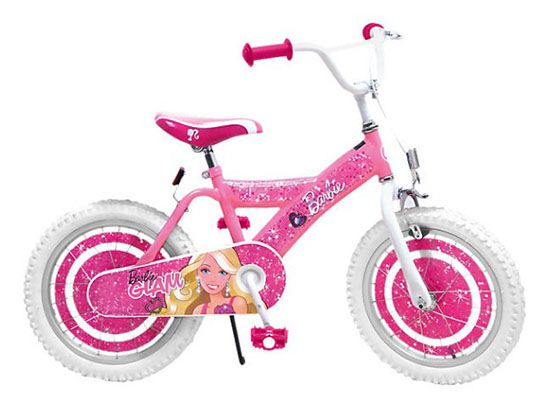 15% Rabatt auf Barbie bei myToys   z.B. Barbie Kinderfahrrad für 91€ (statt 127€)