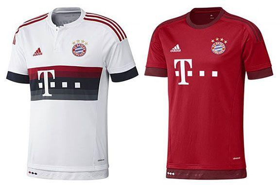 Nur heute! Bayern München Trikots ab 25,50€   andere Vereine ab 30€