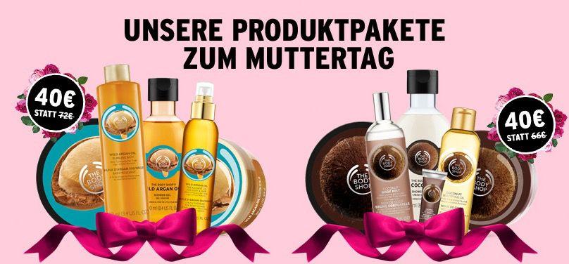 Beauty Pakete Zwei Beauty Pakete zum Muttertag für je 40€