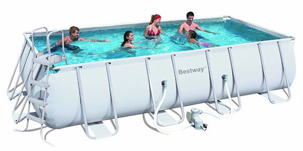 Bestway Frame Pool Power Steel Bestway Frame Pool Power Steel Set für 440,18€ (statt 599€)