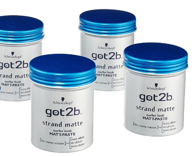 6er Pack got2b Strand Matte Matt Paste ab 10,66€ (statt 18€)