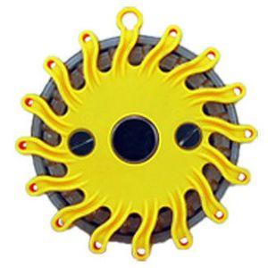 Gelbe LED Warnleuchte mit Magnet für 7,95€ (statt 15€)