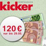 Kicker Jahresabo (104 Ausgaben) für 102€ (statt 222€)