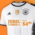 adidas DFB EM 2016 Trikots effektiv geschenkt – wenn Deutschland die EM gewinnt!