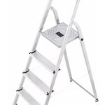 Hailo L20 EasyClix Aluminium-Leiter 5-stufig für 29,90€ (statt 48€)