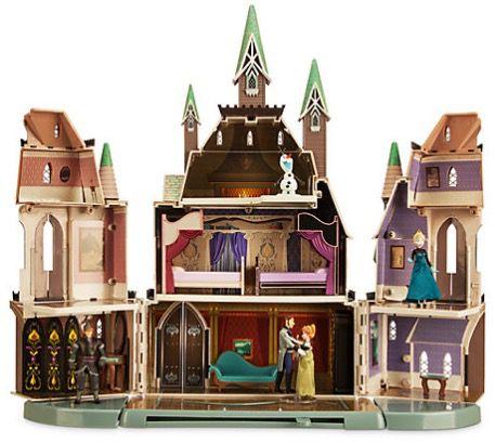 """Nur heute! 24% Rabatt im Disney Store   Schloss Arendelle aus """"Die Eiskönigin für 76€ (statt 100€)"""