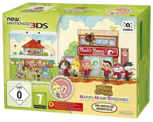 Bildschirmfoto 2016 11 24 um 13.38.25 New Nintendo 3DS + Animal Crossing Happy Home Designer für 139,09€ (statt 163€)