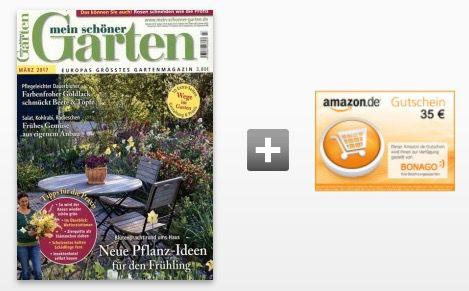 Bildschirmfoto 2017 02 21 um 14.11.51 12 Ausgaben mein schöner Garten für effektiv 13€ dank 35€ Amazon Gutschein