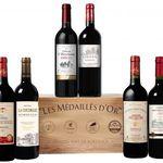 6 Flaschen goldprämierte Bordeaux-Weine in Holzkiste für 39,90€